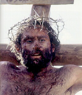 "Bruce Marchiano as Jesus in The Visual Bible's ""Matthew.""  ©1997 Visual Entertainment, Inc.  Used by permission."